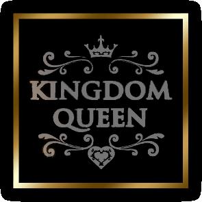 「キングダムクイーン」のメインロゴ