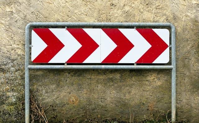 警告の画像
