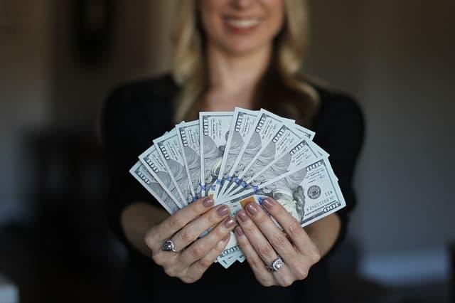 収入アップの画像