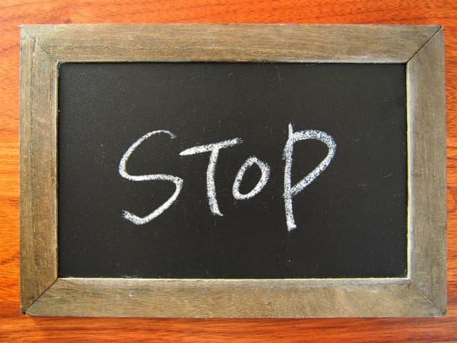 「STOP」の画像
