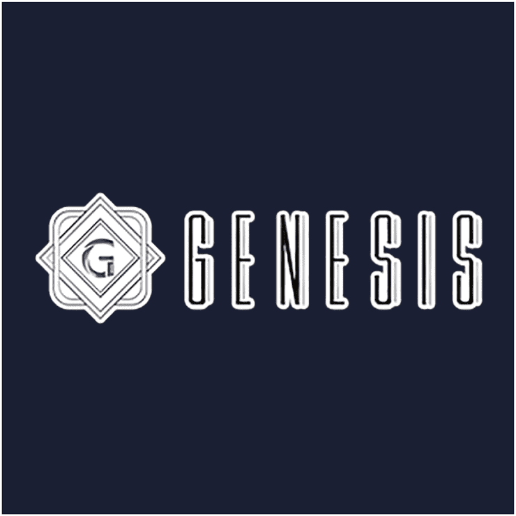 「ジェネシス」のトップロゴ